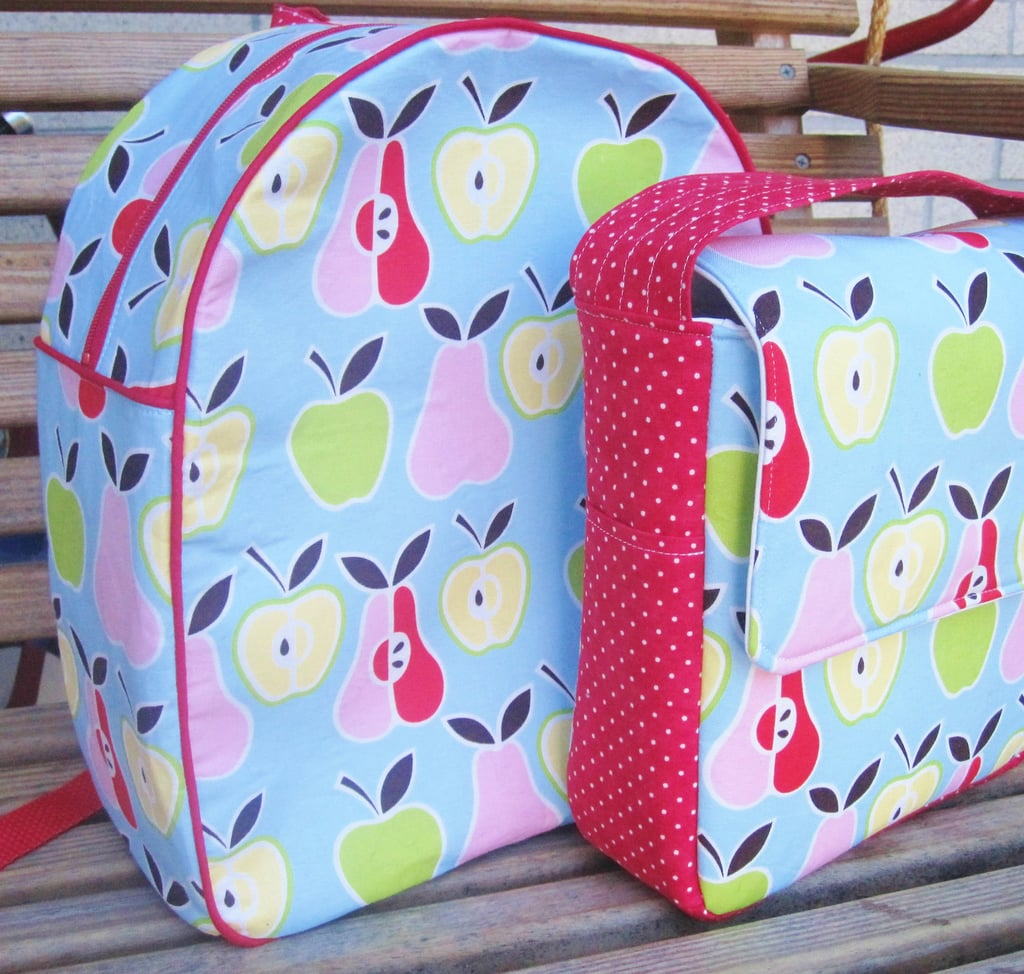 Preschool Backpack and Lunch Tote