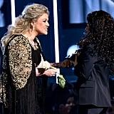 Kelly Clarkson and Alessia Cara