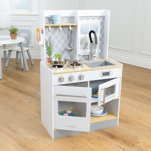 Kidkraft Let S Cook Wooden Play Kitchen Best Toys From Kohl S