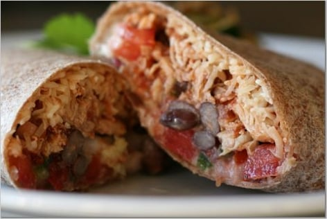 Yummy Link: Stuffed Burrito