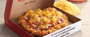 KFC's Fried Chicken Pizza Is the Hybrid Food of Our Dreams and Nightmares
