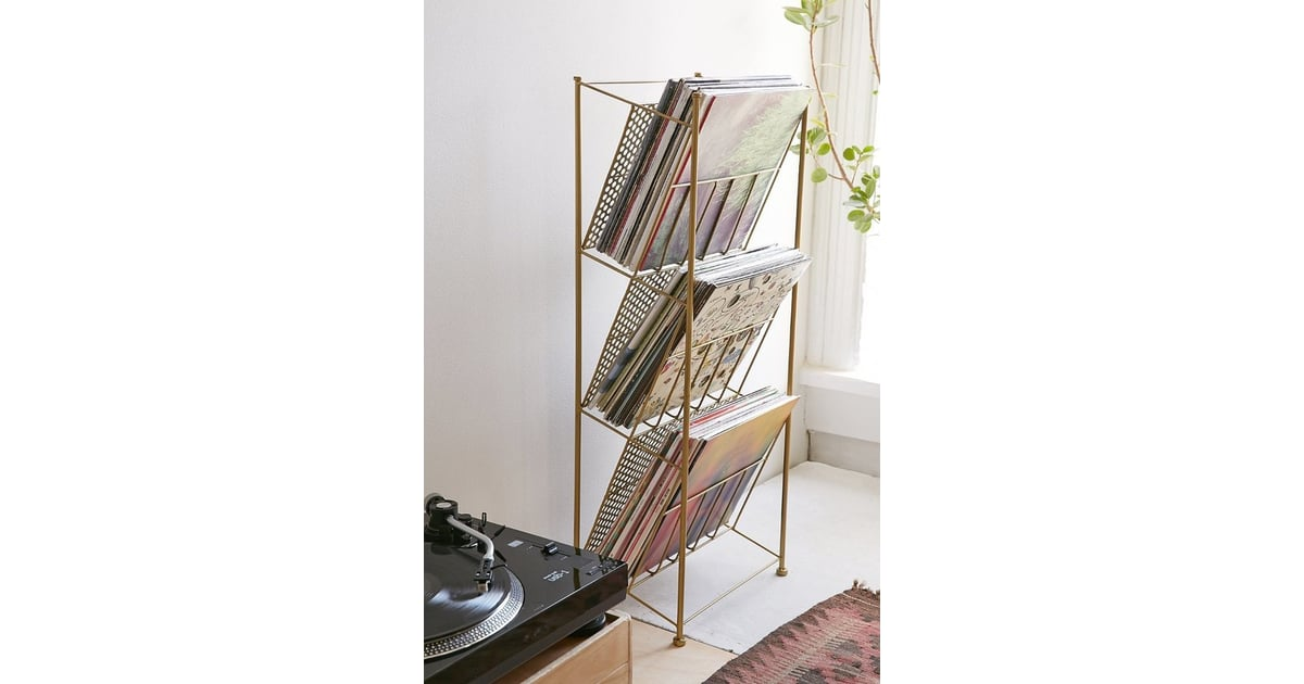 Corner Store Vinyl Storage Rack 59 Best Home Decor