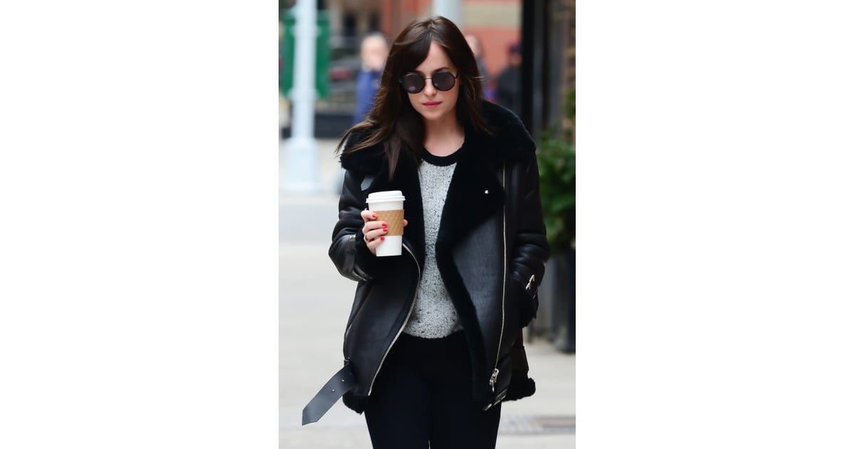 Dakota Johnson Running Errands in NYC | POPSUGAR Celebrity ...