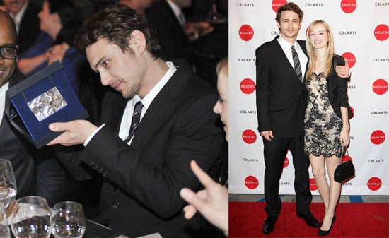 Photos of James Franco And Girlfriend Ahna O'Reilly Before Saturday Night Screens at SXSW 2010-03-16 03:00:00