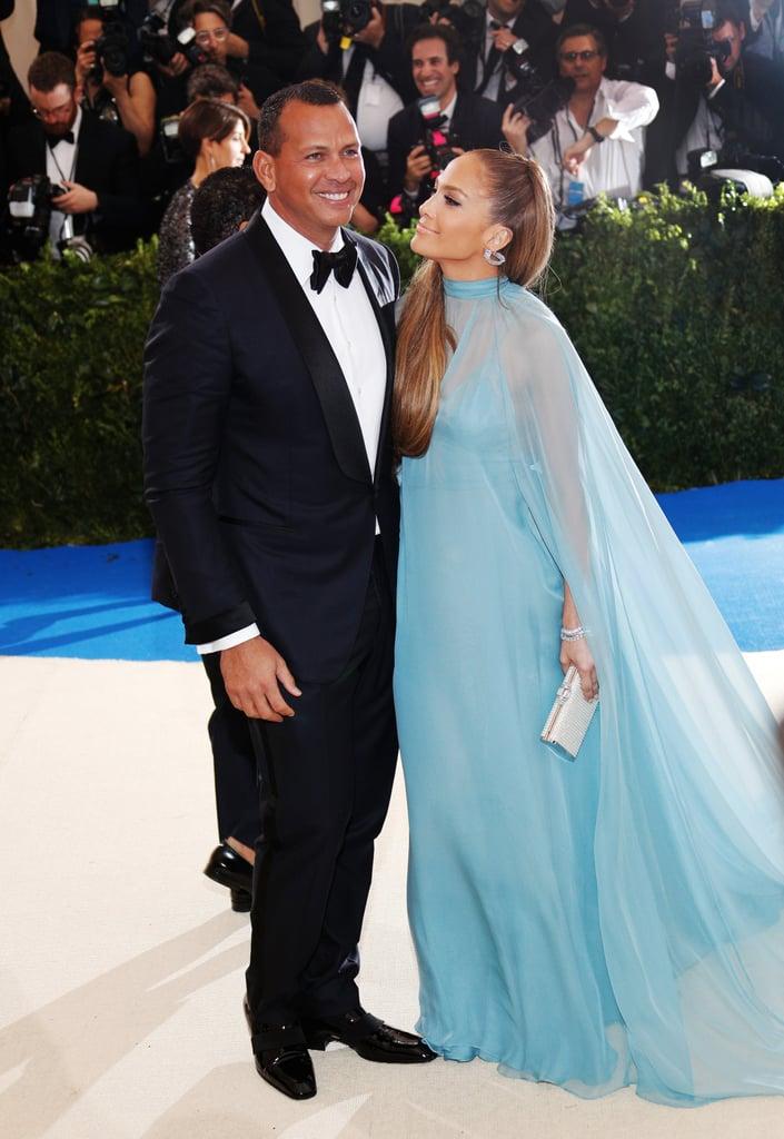 Alex Rodriguez Taking Pictures of Jennifer Lopez at Met Gala