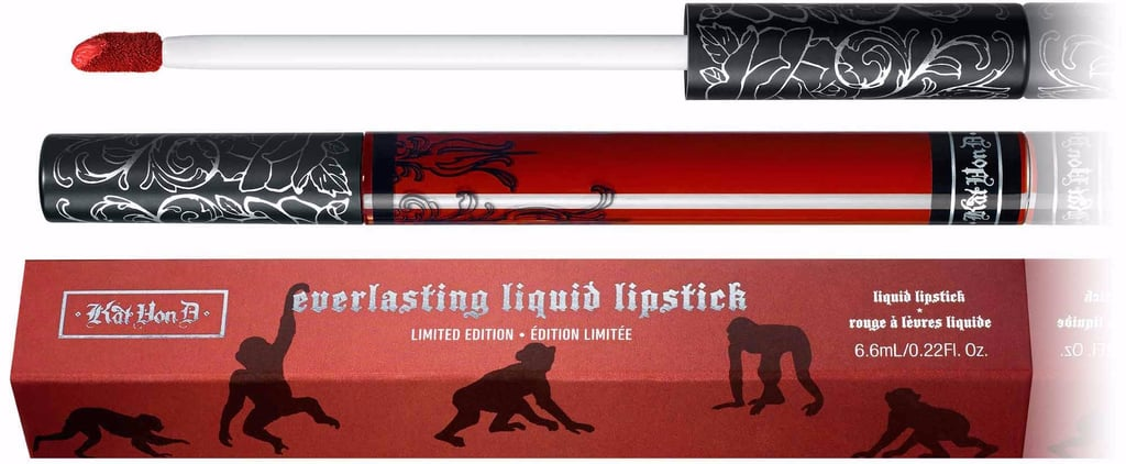 Kat Von D Just Brought Back the Charitable Everlasting Liquid Lipstick in Project Chimps!
