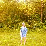 Nicky Hilton hung out in a field during a road trip.  Source: Instagram user nickyhilton