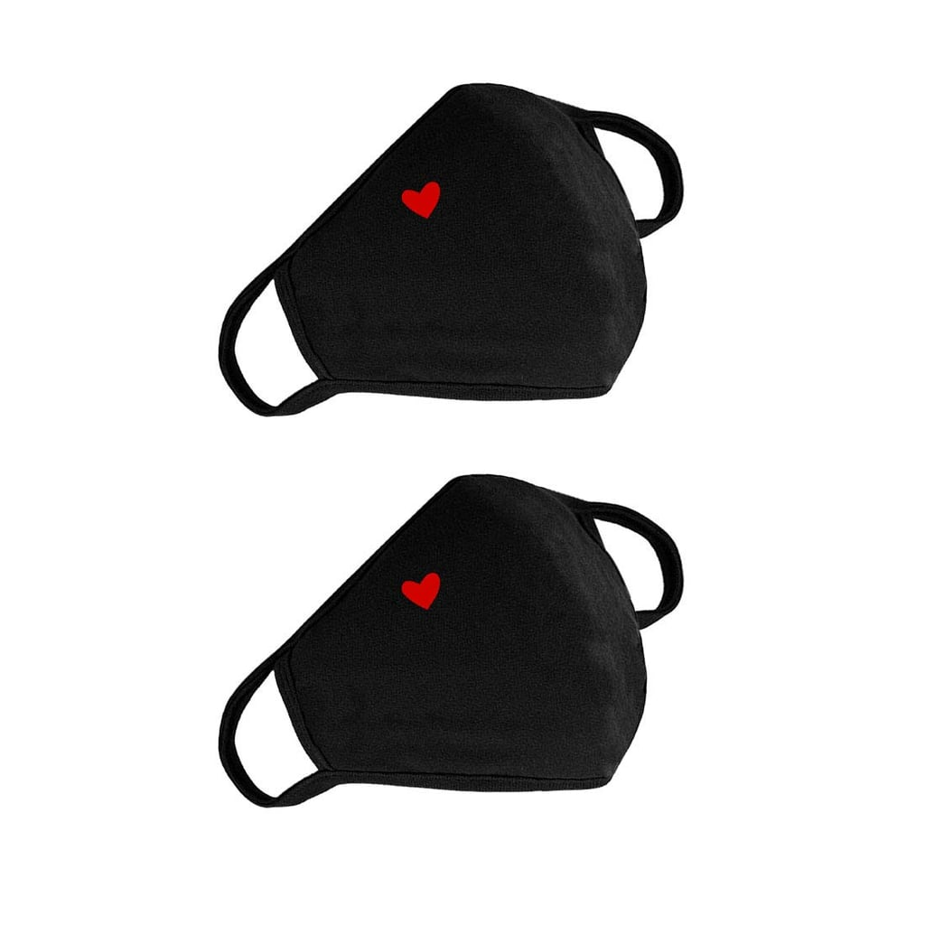 Cute Heart Face Protection