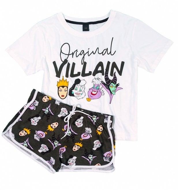 bc1b1610cce1 Women s Disney Villains Original Witch Shortie Pajama Set