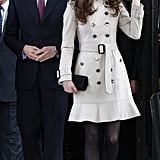Kate at Ireland's City Hall in 2011