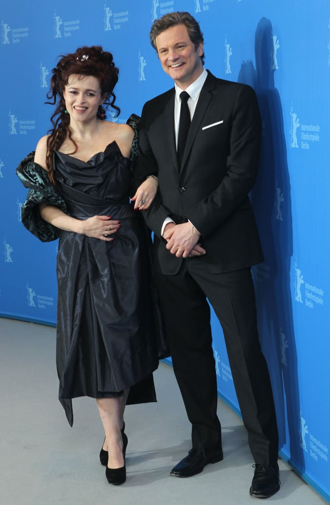 Pictures of Colin Firth, Helena Bonham Carter, and Tom Hooper at Berlin Film Festival For The King's Speech