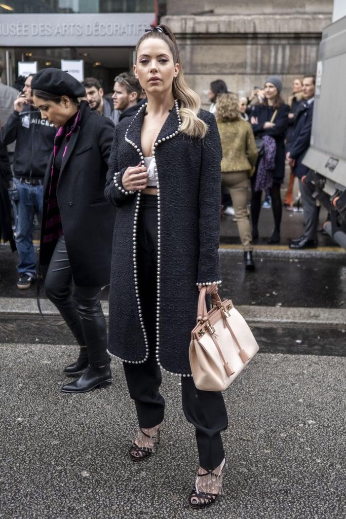 Ashley Benson at Paris Fashion Week 2020
