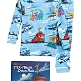 Steam Train, Dream Train Fitted Two-Piece Pajamas & Book Set