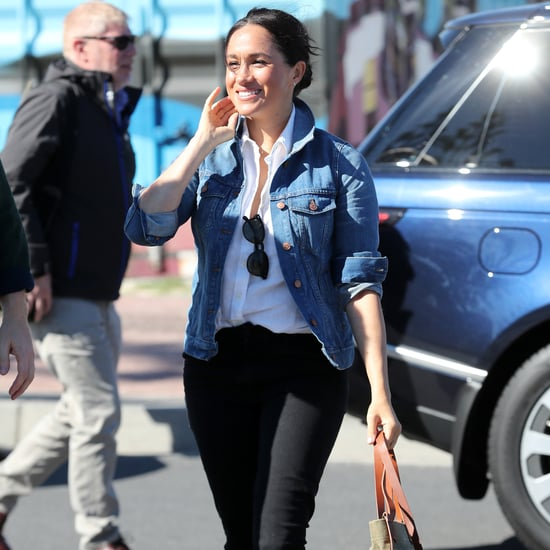 Meghan Markle Looks Effortless in a Denim Jacket
