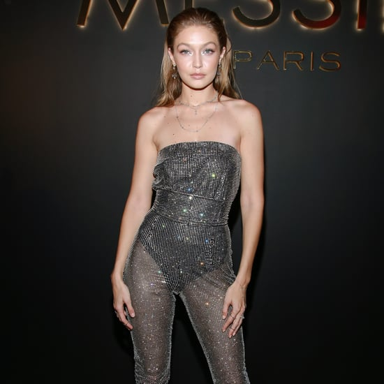 Gigi Hadid's Sparkly Jumpsuit September 2018