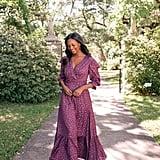 Gal Meets Glam Collection Cassandra Floral Jacquard Maxi Dress