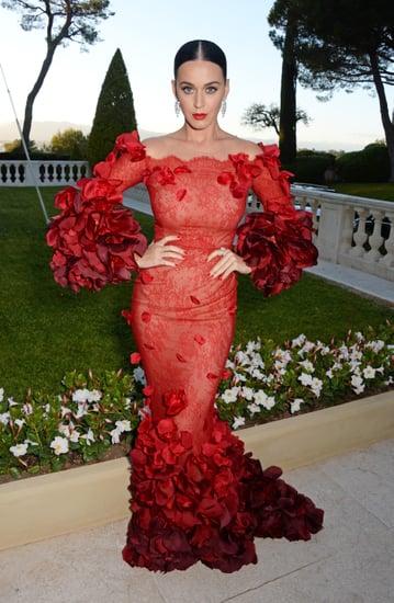 Katy Perry and Orlando Bloom at amfAR Gala Cannes 2016