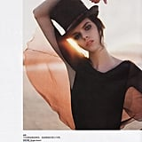 """Meghan Collison in """"Seaside Rendezvous,"""" Vogue China May 2008"""