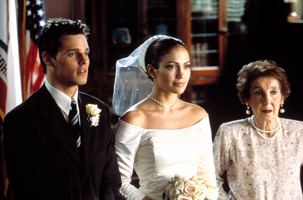 jennifer lopez in the wedding planner movie wedding gowns worn by latina actresses popsugar. Black Bedroom Furniture Sets. Home Design Ideas