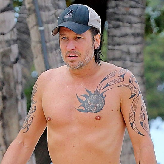 Keith Urban Shirtless in Hawaii | Pictures