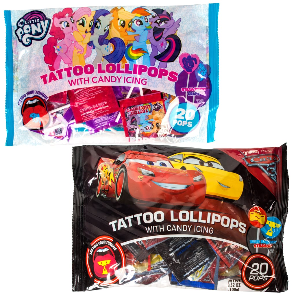 136c6c81d21e18 Assorted Licensed Character Tongue Tattoo Lollipops