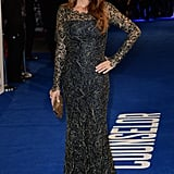 Penélope Cruz attended the London premiere for her new movie, The Counselor.