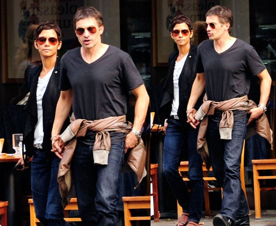 Pictures of Halle Berry and Olivier Martinez Holding Hands in London Amid New Romance Rumours