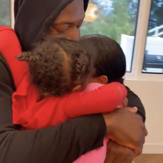 Video of Kaavia, Gabrielle Union, and Dwyane Wade Hugging