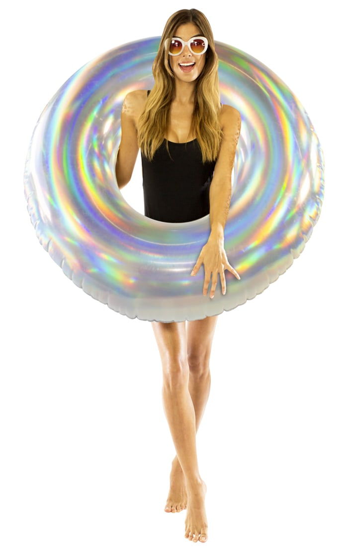Holographic Inflatable Pool Tube Holographic Pool Floats
