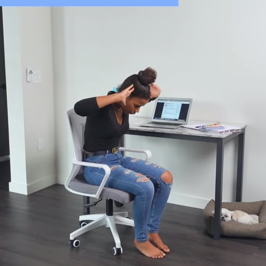 5-Minute Desk Ab Workout Video