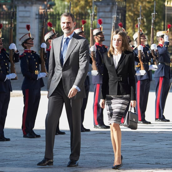 Queen Letizia and King Felipe VI at Symposium Nov. 2016