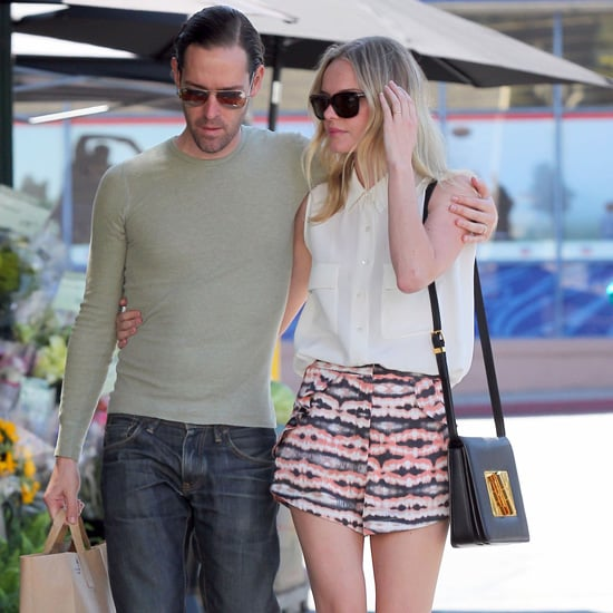 Kate Bosworth Wearing Printed Shorts
