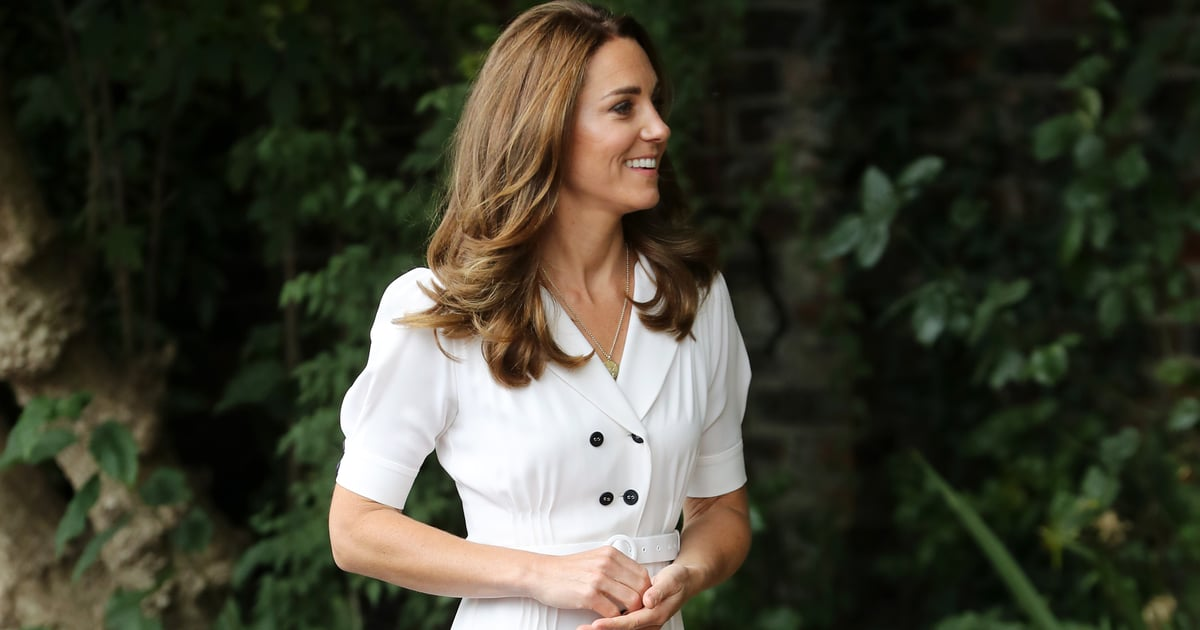 Kate Middleton Keeps Her Kids Close by Wearing a Gold Necklace With Their Initials