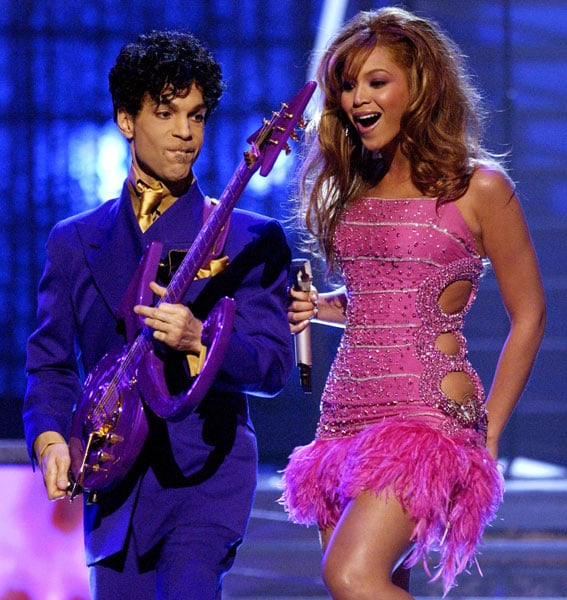 Beyoncé Knowles and Prince
