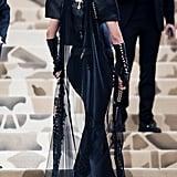 Bella Hadid's Chromes Heart Met Gala Dress 2018
