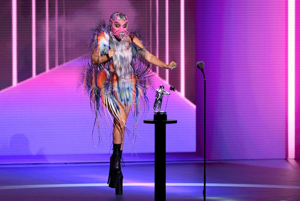 Lady Gaga at the 2020 MTV VMAs