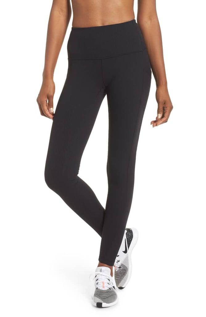 7561f6df7b3c00 Zella Divine High Waist Rib Leggings | Best Leggings From Nordstrom ...