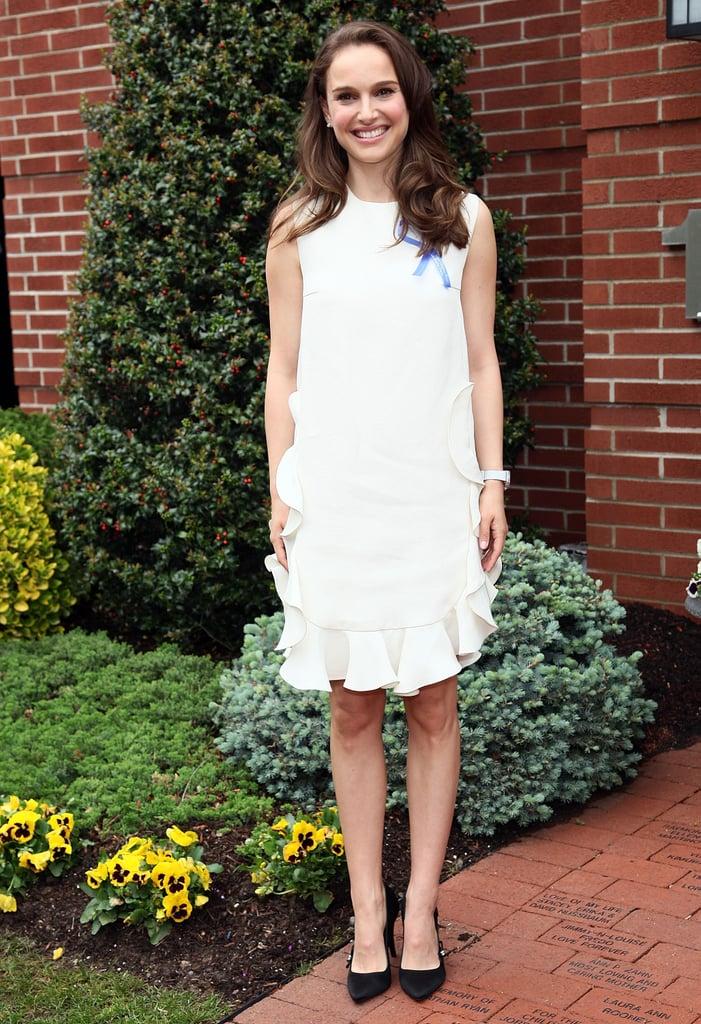 Natalie Portman in Giambattista Valli at a 2012 Children's House Benefit