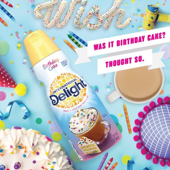 International Delight Birthday Cake and Cannoli Creamer