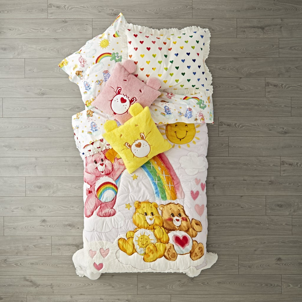 Bedding | Land of Nod Fall 2017 Care Bears and Paul Frank ...