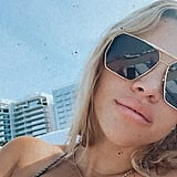 Sofia Richie's Printed Bikini in Miami