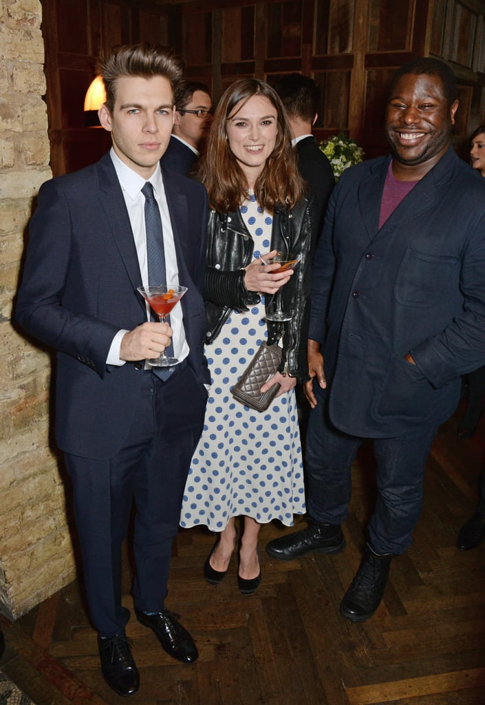 Keira and Jame chatted with director Steve McQueen.