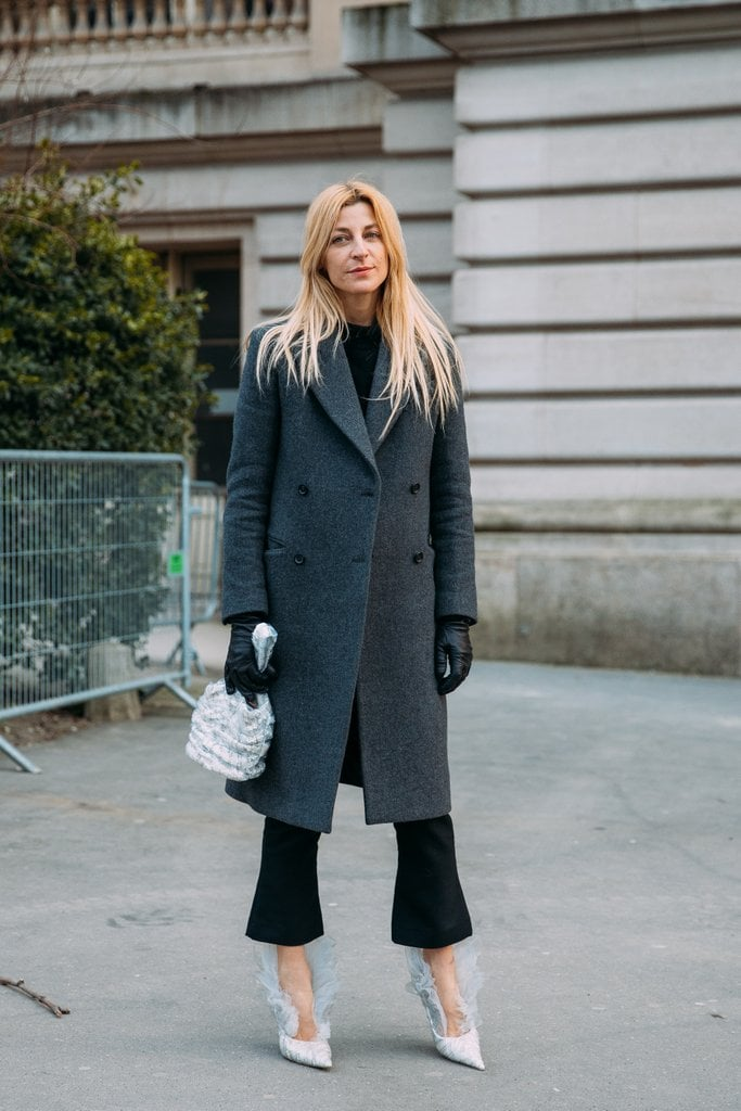 A cropped pant allows your shoes to be the focal point.