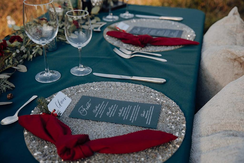 Inspiration For a Rustic Christmas Tree Farm Wedding