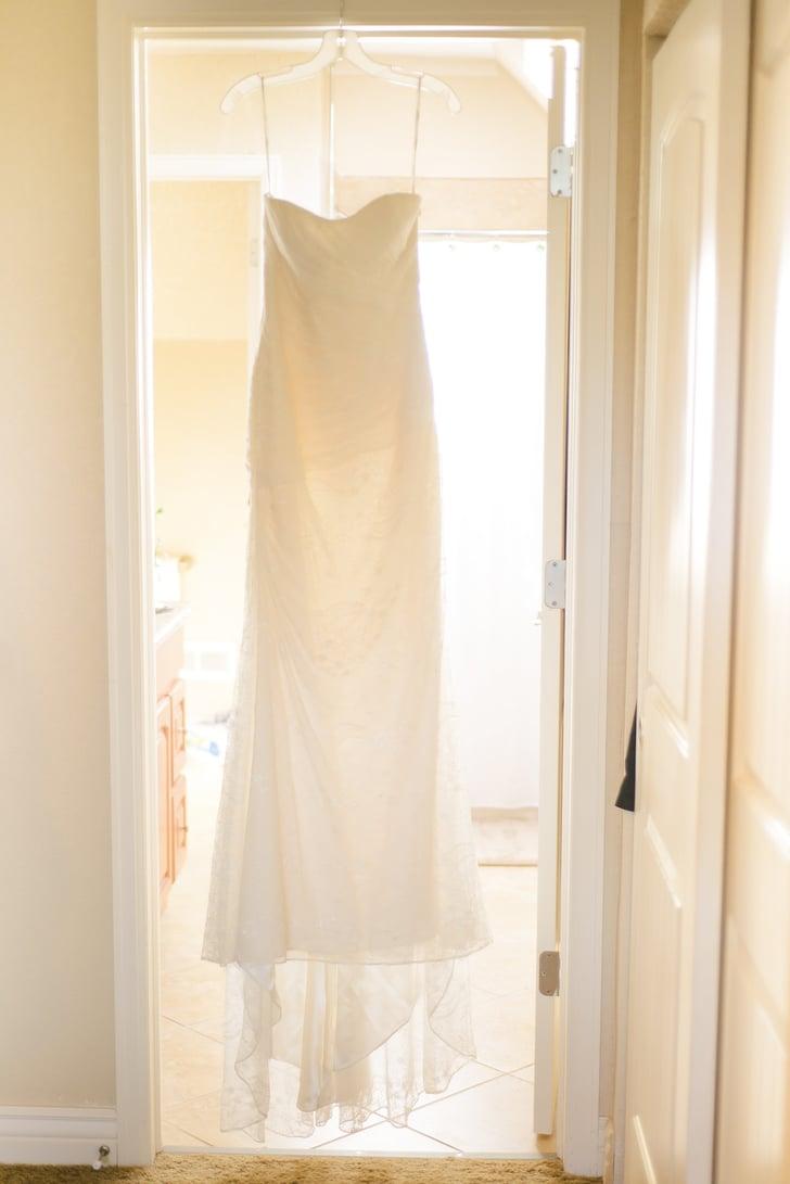 Hanging Dress Wedding Day Photo List Popsugar Tech Photo 2