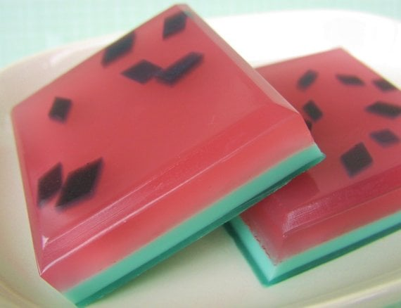 Watermelon Rind Soap