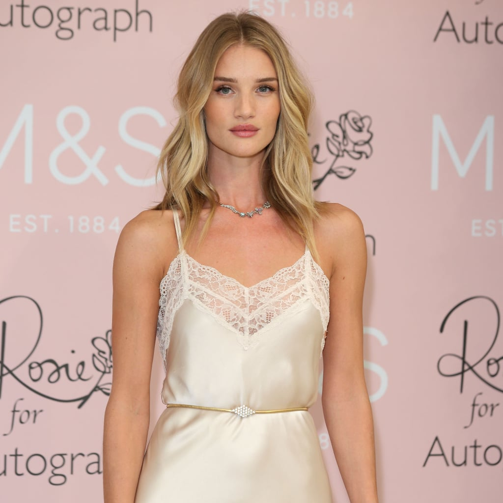Rosie Huntington-Whiteley Wore Her Lingerie Out of the House