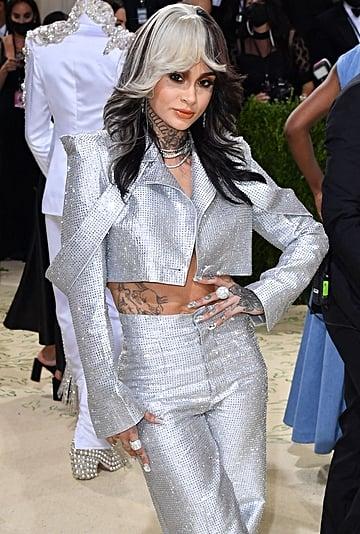 Kehlani's Crystal Aliétte Suit at the Met Gala 2021