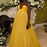 Jodie Turner-Smith at the British Vogue and Tiffany & Co. Fashion and Film Party