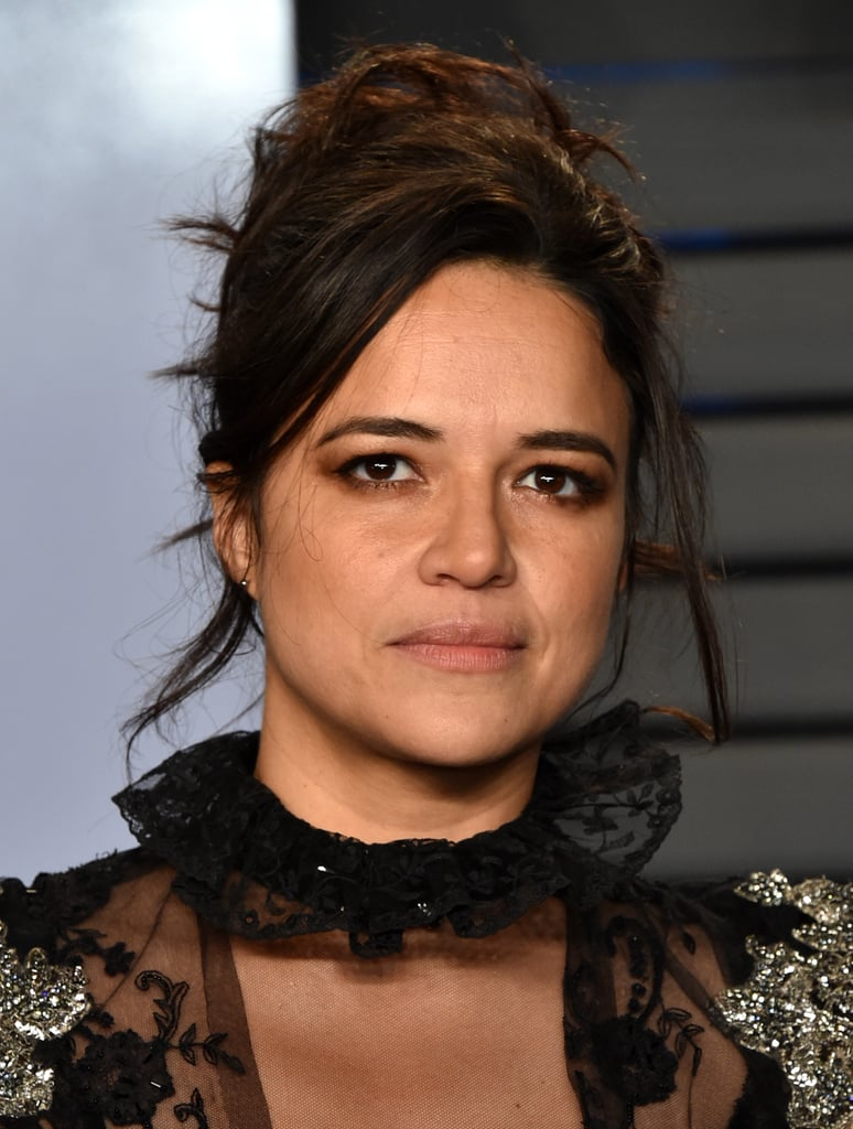 Michelle Rodriguez at the Vanity Fair Oscar Party